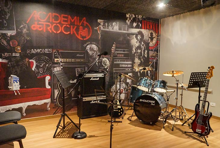 Adquira uma Franquia Academia do Rock