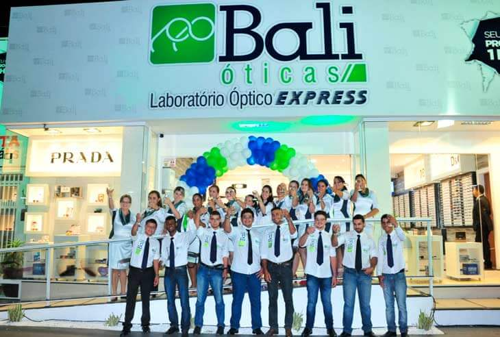 Franquia Bali Óticas preço