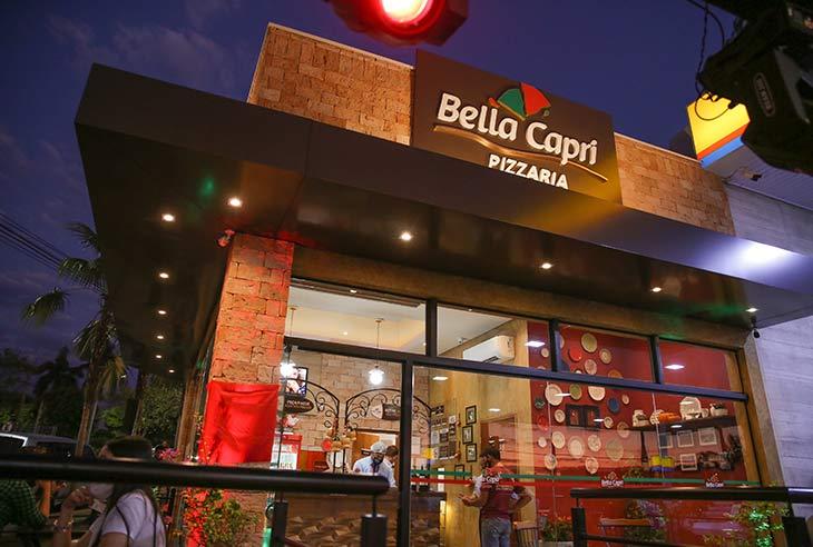 Franquia Bella Capri Pizzaria qual é o preço