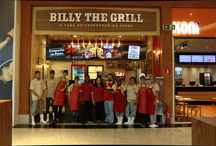 Franquia Billy the Grill investimento