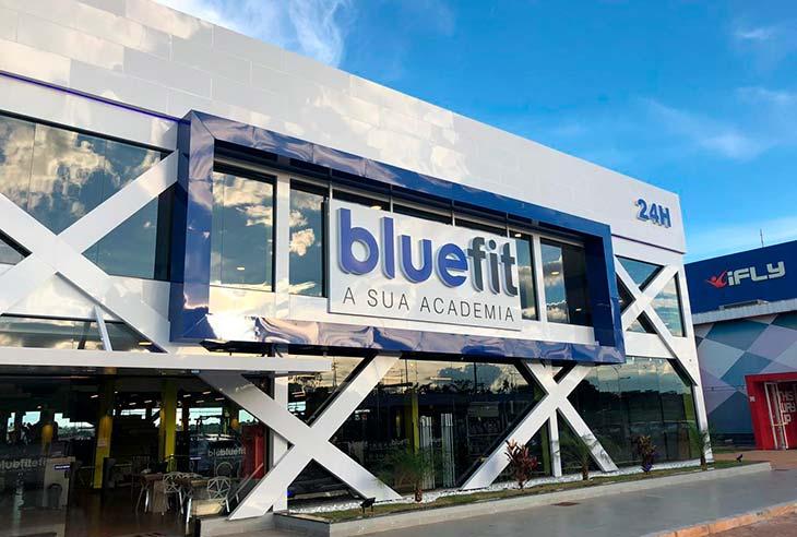 Taxa da franquia Bluefit