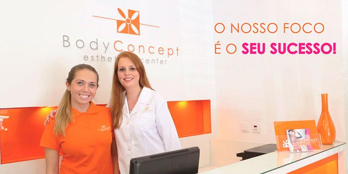 Franquia Bodyconcept investimento