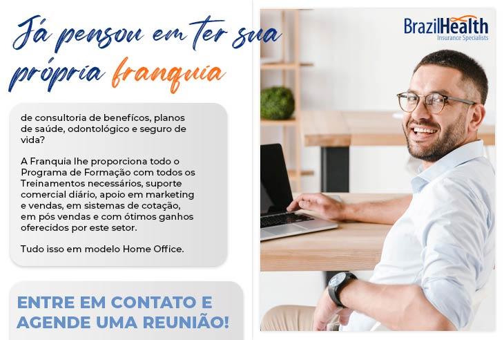Franquia Brazil Health invista em uma