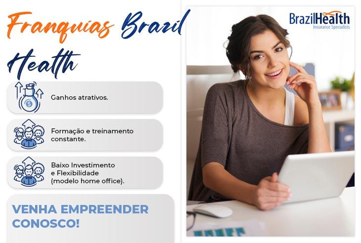 Franquia Brazil Health benefícios