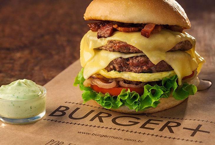 Franquia Burger+ abrir uma