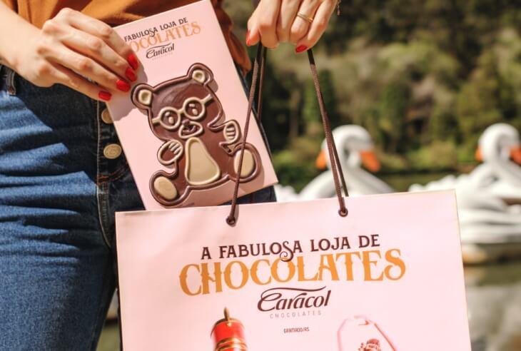 Vantagens e benefícios da Franquia Caracol Chocolates
