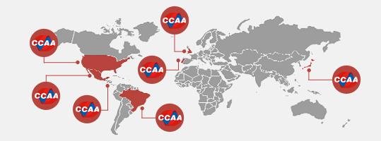 Franquia CCAA no mundo