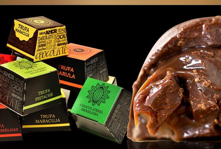 Franquia Chocolateria Brasileira Circular de Oferta