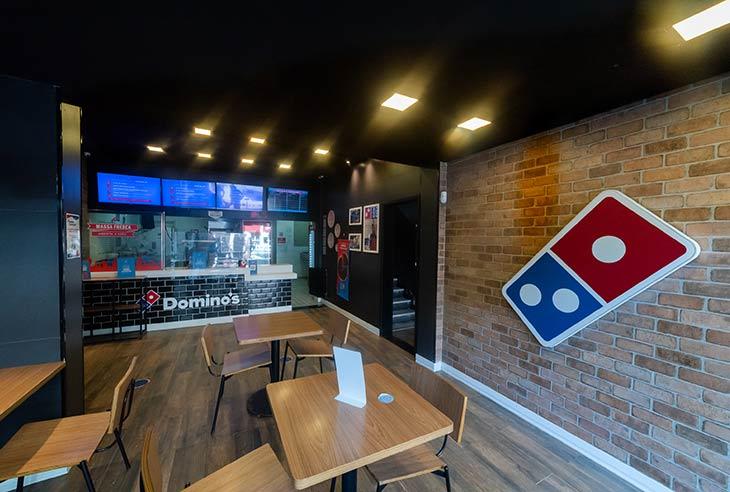 Taxa da franquia Domino´s Pizza
