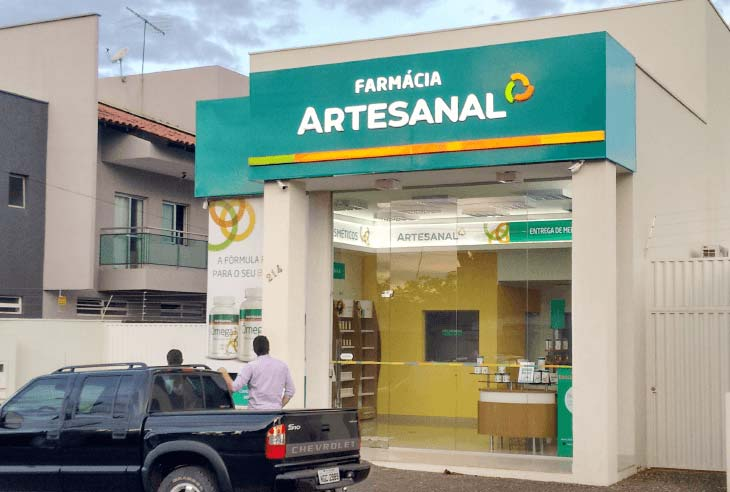 Franquia Farmácia Artesanal valores