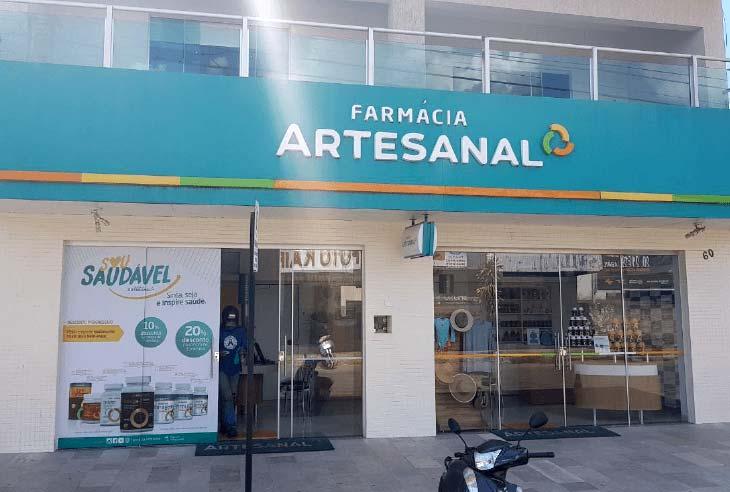 Franquia Farmácia Artesanal taxas