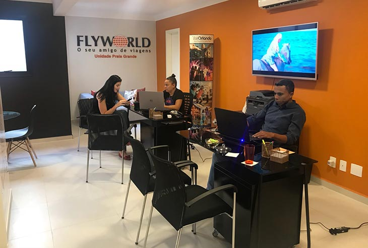 Quanto custa a Franquia Flyworld