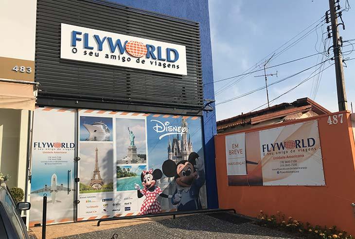 Ter uma Franquia Flyworld
