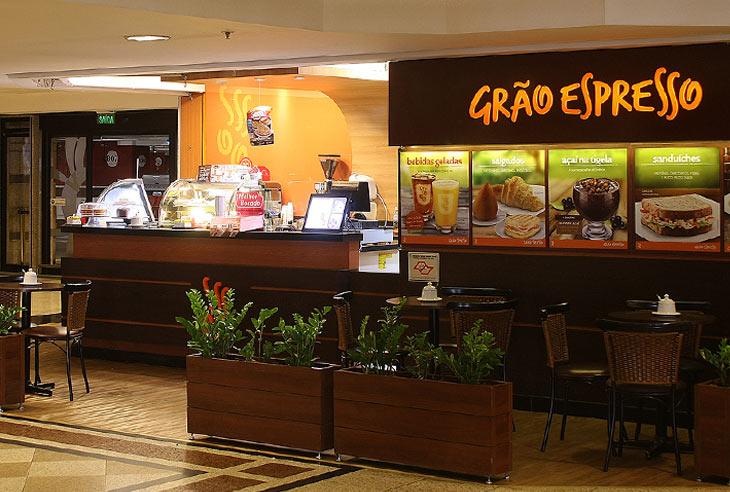 Taxas da Franquia Grão Espresso Cafeteria