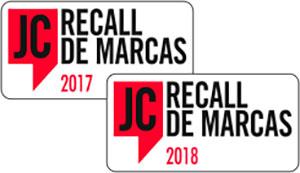 Franquia Grau Técnico prêmio JC Recall de Marcas