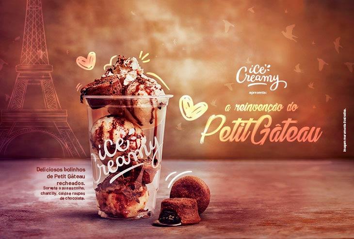 Franquia Ice Creamy invista em uma