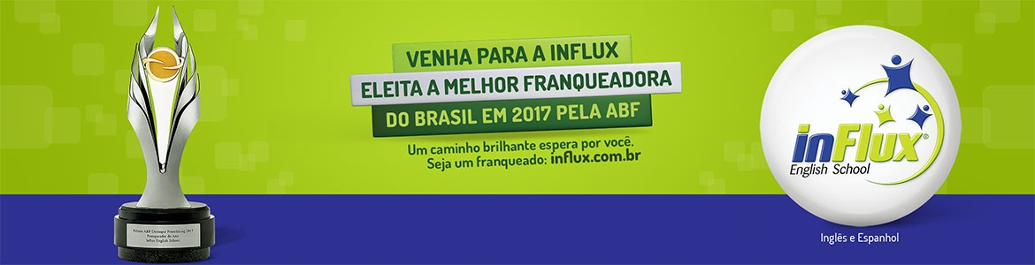 Franquia Influx English School