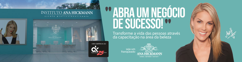 Franquia Instituto Ana Hickmann