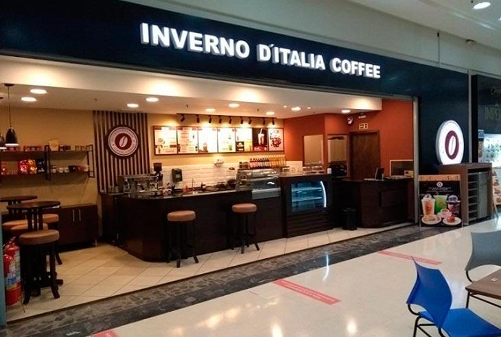 Taxa da Franquia Inverno D'Italia Coffee