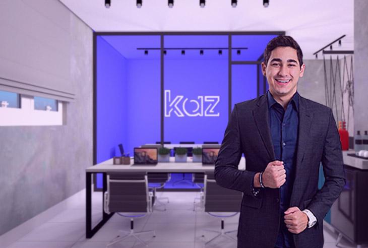 Qual a taxa de franquia da marca Kaz