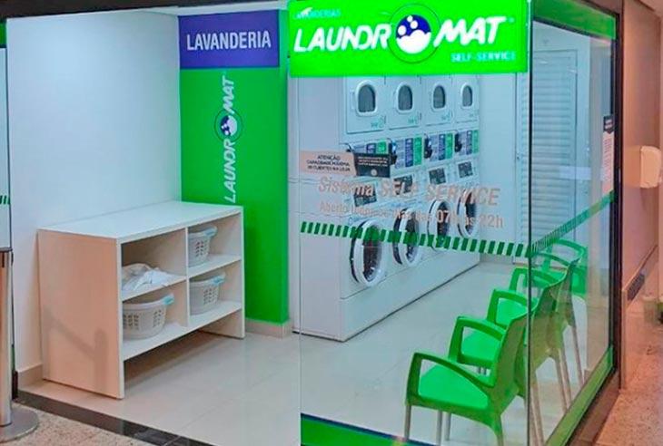 Franquia Laundromat Faturamento
