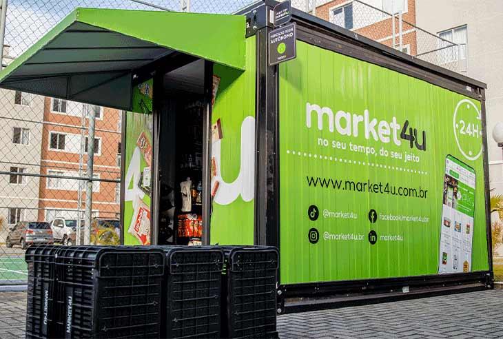 Invista em uma Franquia Market4U