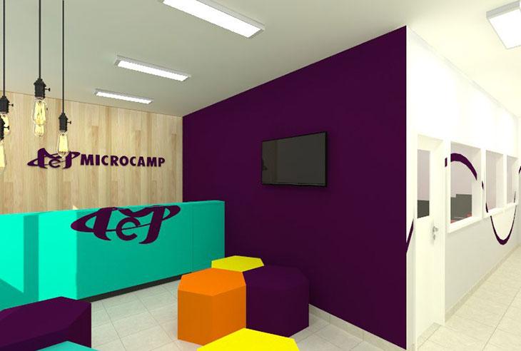 Franquia Microcamp preço
