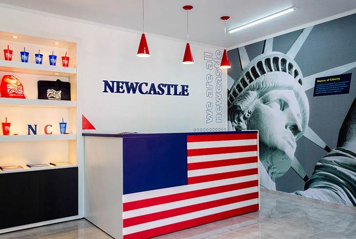 Franquia Newcastle qual é o valor