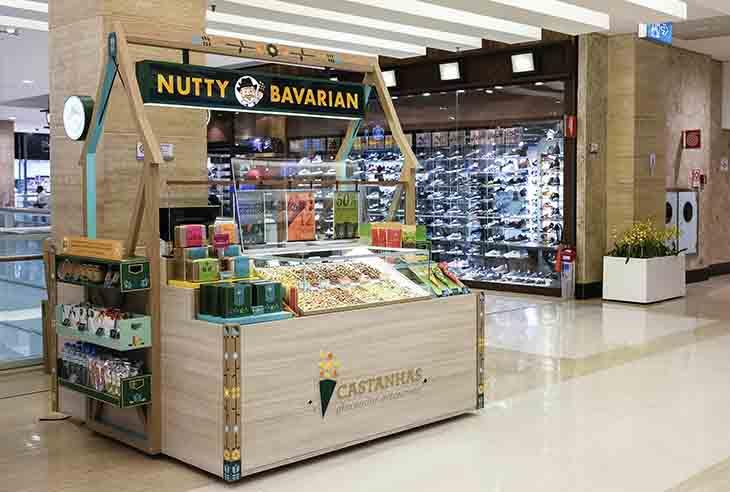 Qual é o preço da Franquia Nutty Bavarian