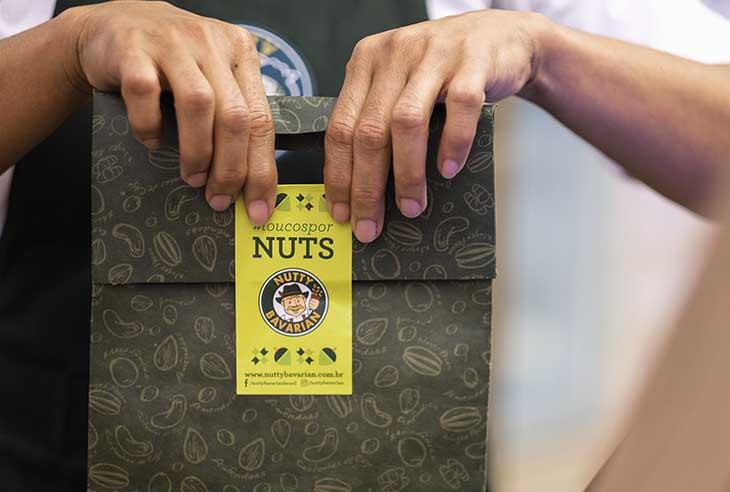 Franquia Nutty Bavarian como funciona
