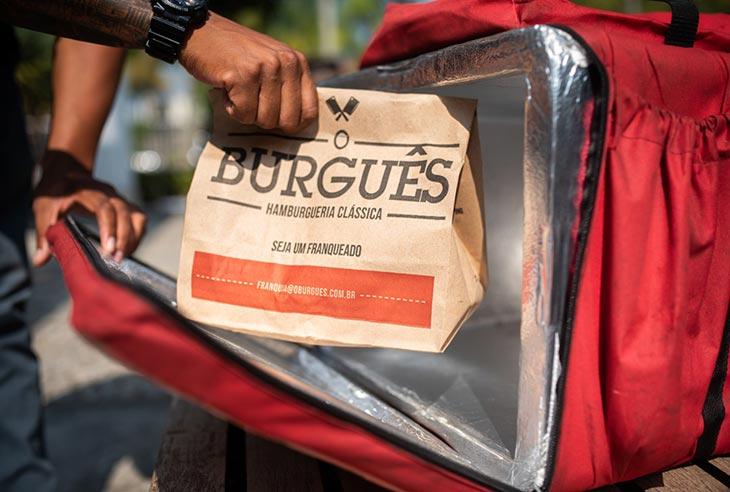 Franquia O Burguês abrir uma