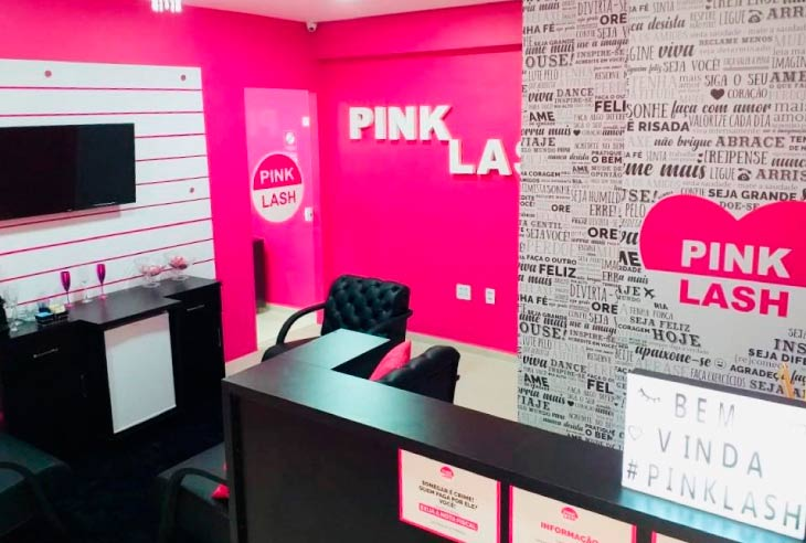 Qual é o valor da Franquia Pink Lash