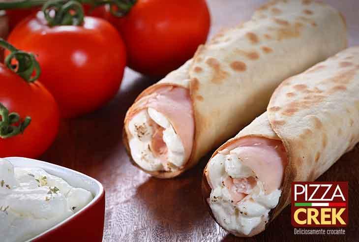 Circular de Oferta da Franquia Pizza Crek