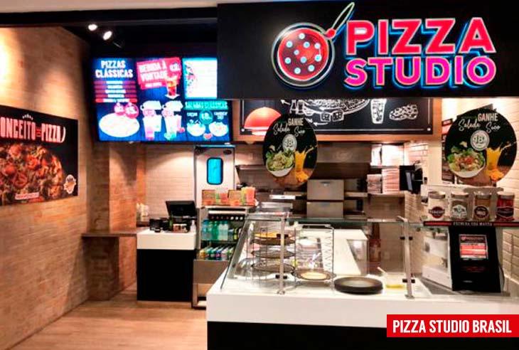 Qual é o preço da Franquia Pizza Studio