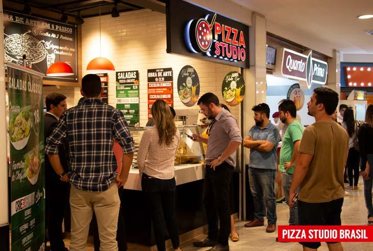 Quero comprar uma Franquia Pizza Studio