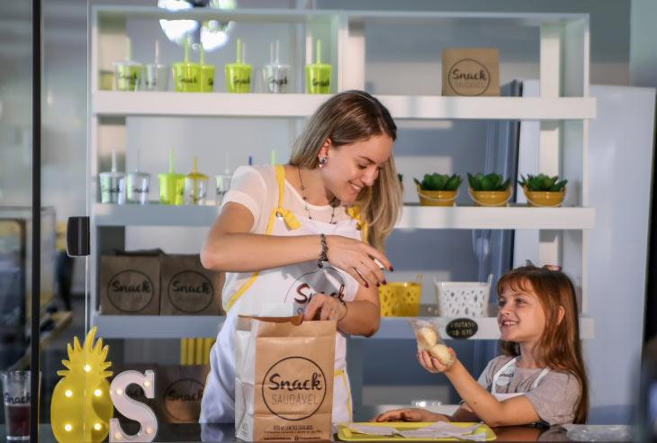 Vantagens e benefícios da Franquia Snack Saudável