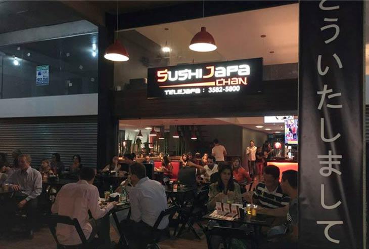 Taxa da franquia SushiJapa Chan