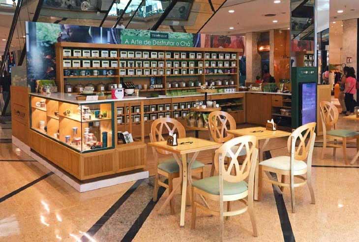 Circular de Oferta da Franquia Tea Shop