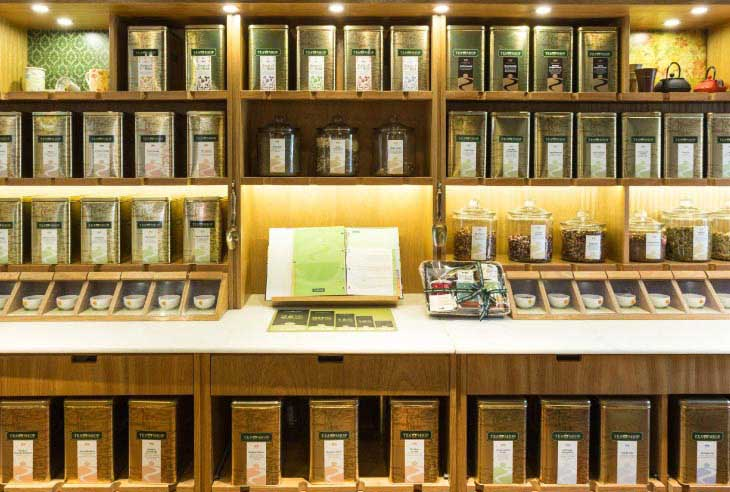 Quero uma Franquia Tea Shop