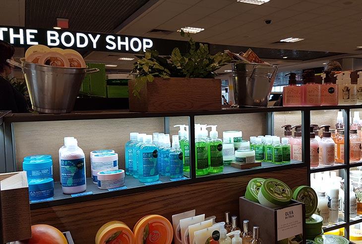 Franquia The Body Shop quero comprar uma