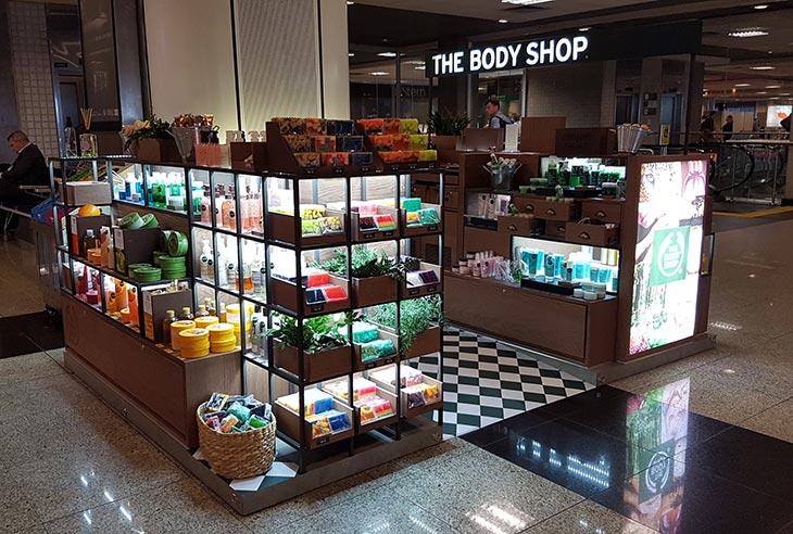 FranquiaThe Body Shop oportunidade