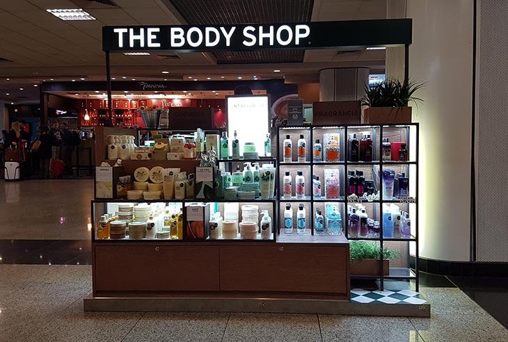 Quero comprar uma Franquia The Body Shop