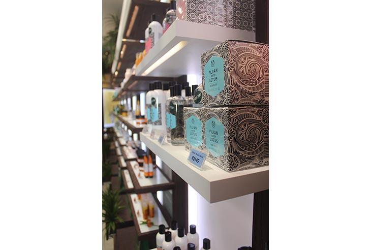 Franquia The Body Shop investimento