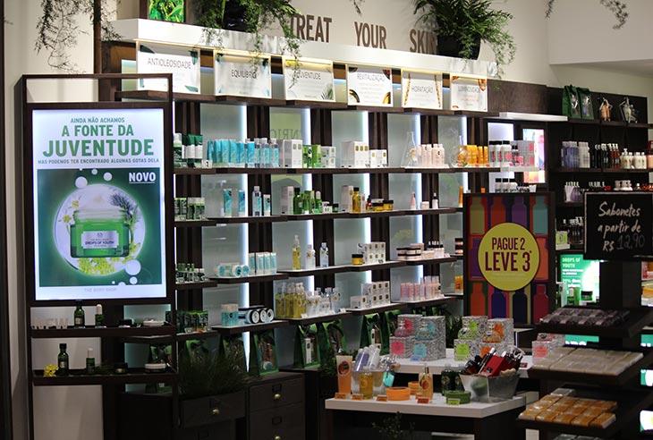 Franquia The Body Shop preço