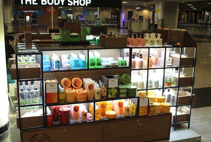 Preço Franquia The Body Shop