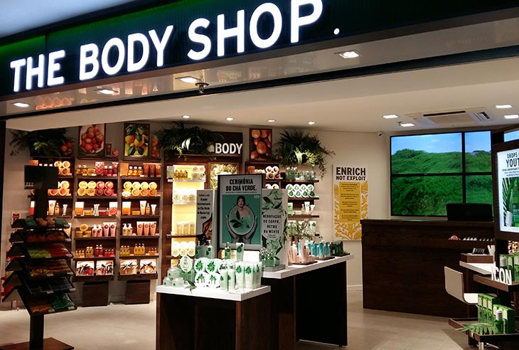 Quanto custa a Franquia The Body Shop