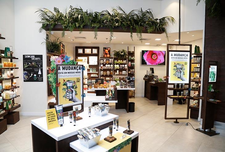 Franquia The Body Shop qual é o valor