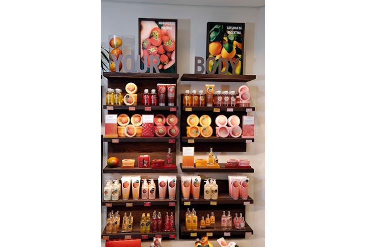 Estou interessado na Franquia The Body Shop