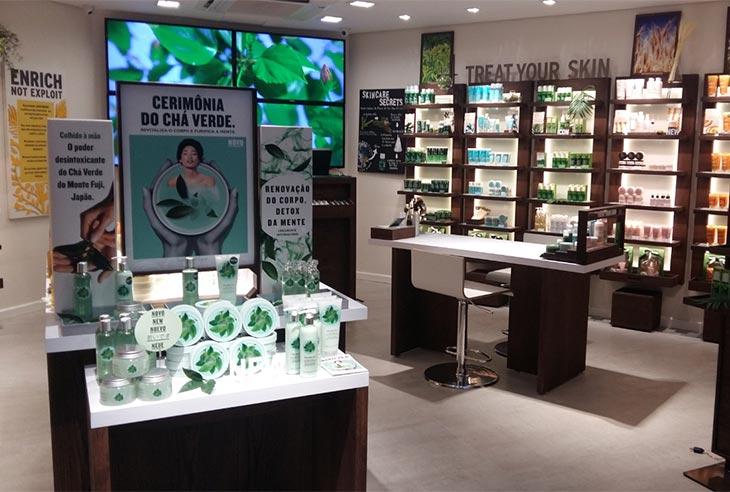 Quanto custa Franquia The Body Shop
