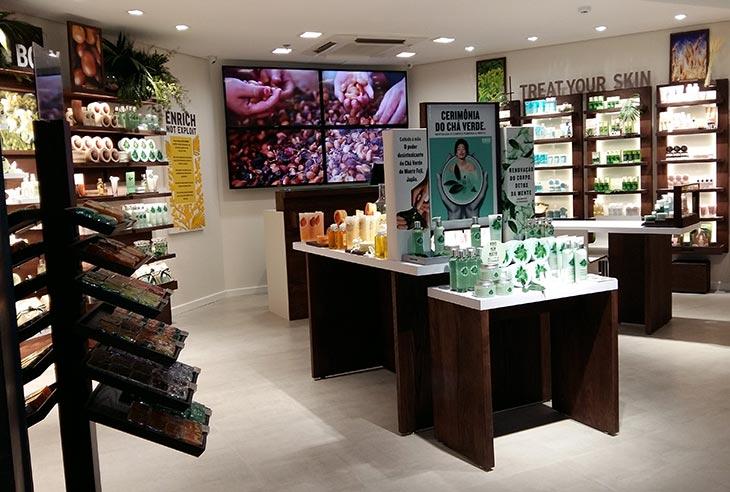 Oportunidade Franquia The Body Shop